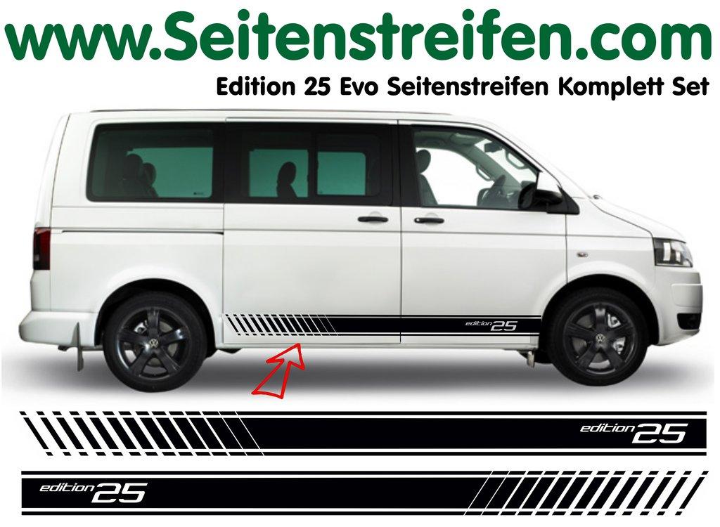 vw bus t4 t5 edition 25 sticker. Black Bedroom Furniture Sets. Home Design Ideas