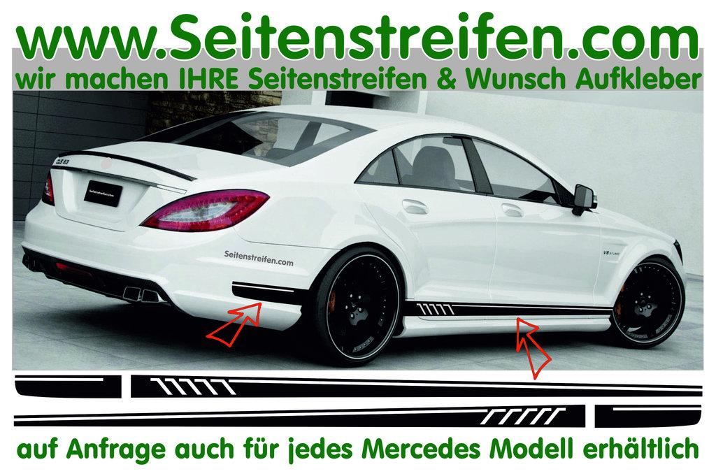Mercedes Benz Cls Amg 507 Replica Sticker Decal Side