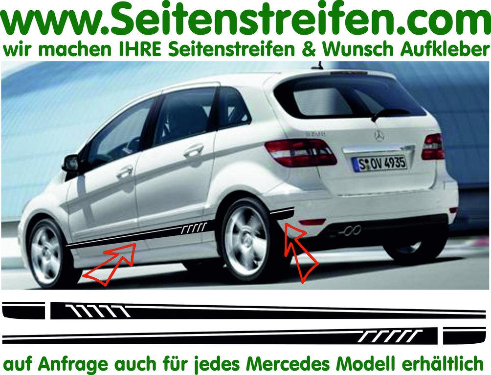 Mercedes benz b class 507 replica sticker decal side for Mercedes benz decal