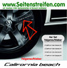VW Bus T4 T5 T6 California Beach Felgen Aufkleber 4er Set - Art. Nr.: 8900