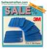 3M - P.A.-1 3M  Blue Squeegee - Sign Vinyl & Vehicle Wrapping Film Application - N° M200