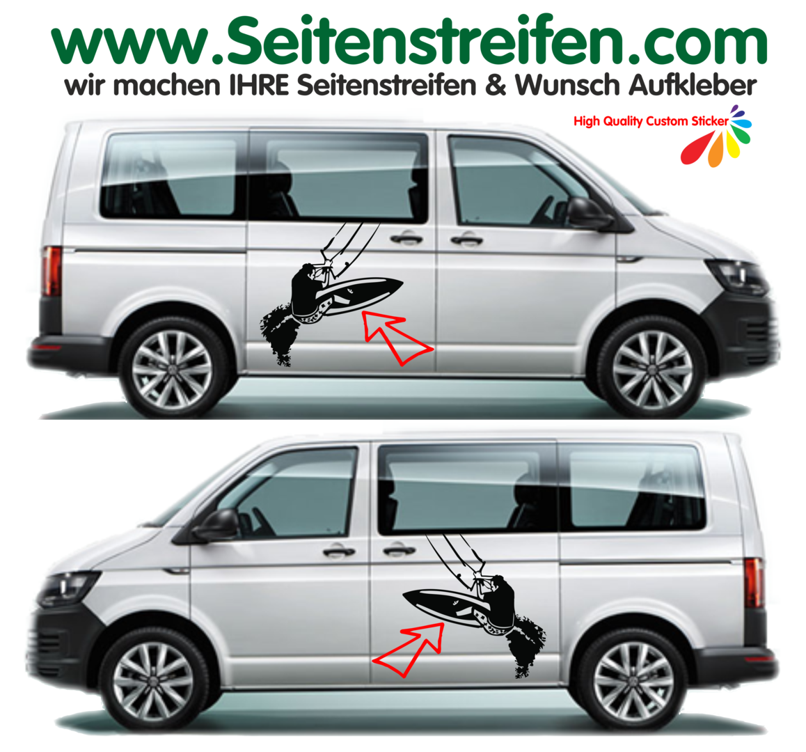Vw Bus T4 T5 T6 Kiten Surfen Wind