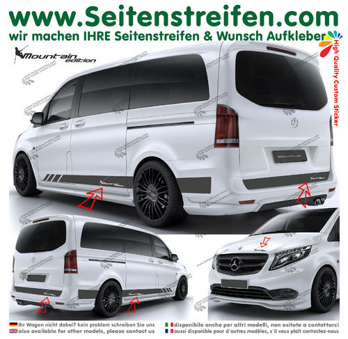 Mercedes Benz V Klasse 447/693/638 - Mountain Edition Bergsteiger Set - N° 6777