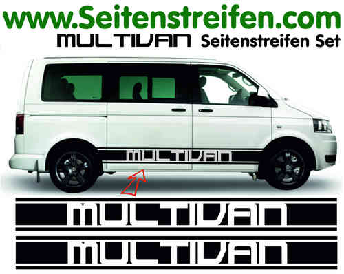 VW Bus T4 T5  Multivan Version N°2 Sticker Autocollant