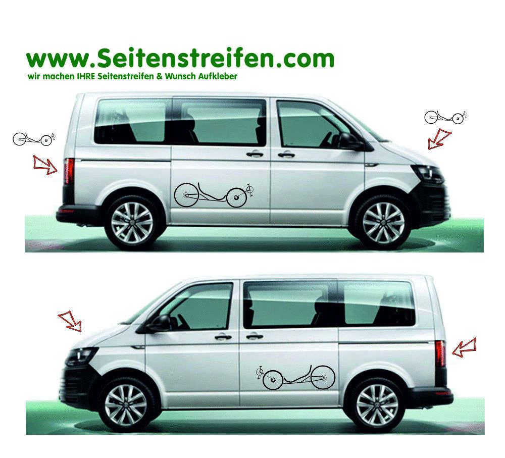 correct size VW T4 Transporter B Pillar Decal Sticker