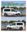 VW Caddy mountains and forest XXL Outdoor Dekor Decal Sticker Set N° U1901