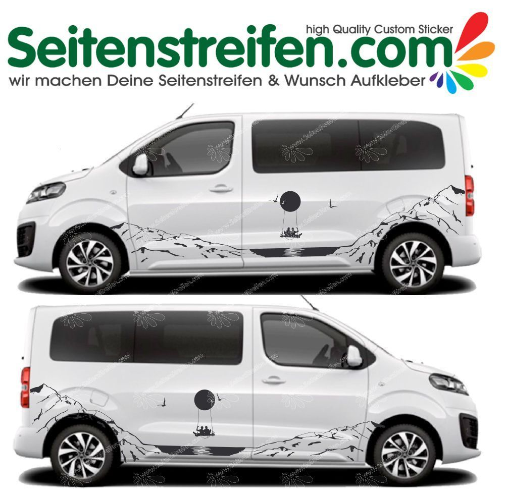 Citroën Spacetourer /Jumpy sticker autocollant ensemble complet U5002